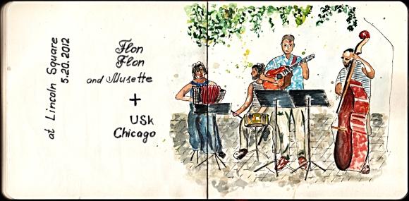 Flon Flon and Musette 5-20-2012